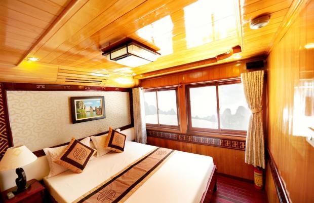 фотографии отеля Alova Gold Cruises Ha Long изображение №11