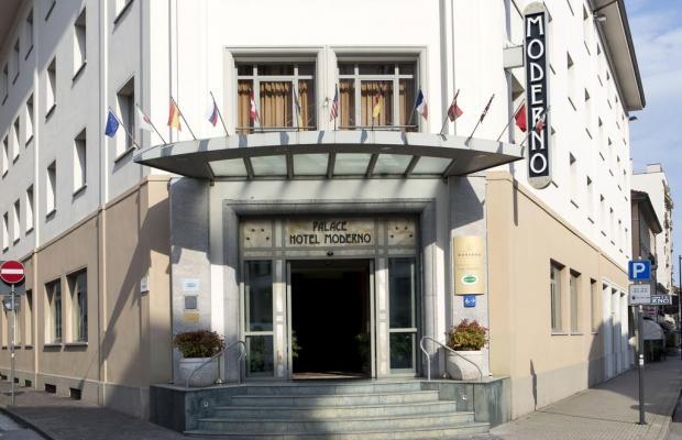 фотографии отеля Palace Hotel Moderno Pordenone изображение №15